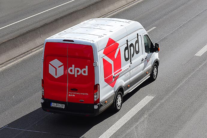 DPD - BlocBlinds Main Delivery Service Company