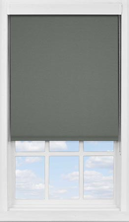 Premium Roller Blind in Flint Blackout
