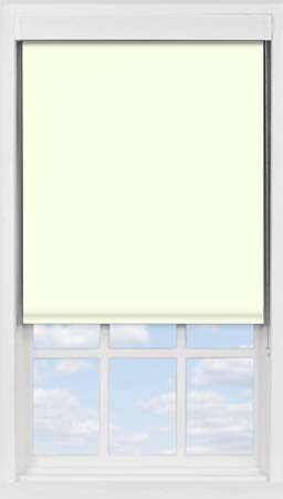 Premium Roller Blind in Alabaster Translucent