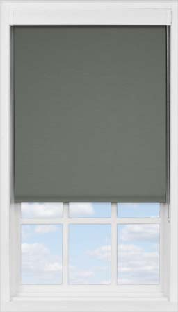 Premium Roller Blind in Ash Blackout