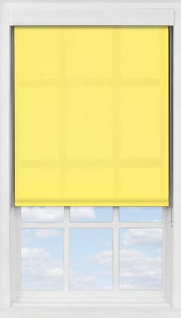 Premium Roller Blind in Buttercup Translucent