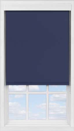 Premium Roller Blind in Celestial Blue Blackout
