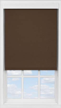 Premium Roller Blind in Cocoa Bean Blackout