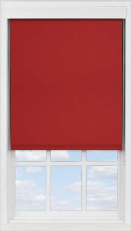 Premium Roller Blind in Garnet Blackout