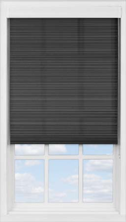 Premium Roller Blind in Midnight Stripe