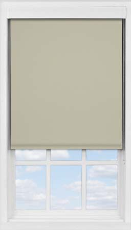Premium Roller Blind in Mink Blackout