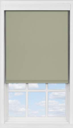 Premium Roller Blind in Moleskin Blackout