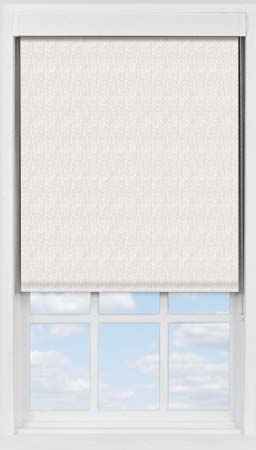 Premium Roller Blind in Neutral Herringbone Blackout