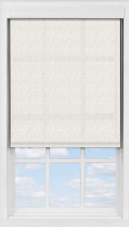 Premium Roller Blind in Neutral Herringbone Translucent