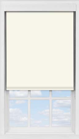 Premium Roller Blind in Orchid White Blackout