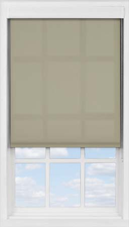 Premium Roller Blind in Fawn Translucent