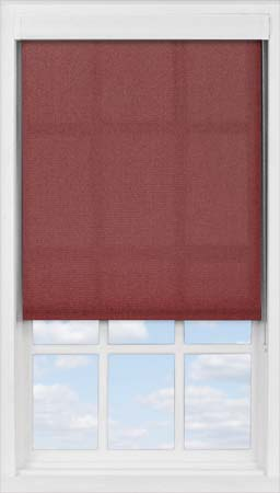 Premium Roller Blind in Plum Translucent