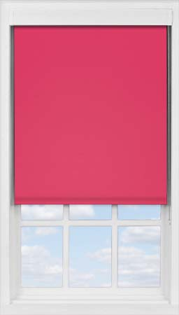 Premium Roller Blind in Pink Punch Blackout