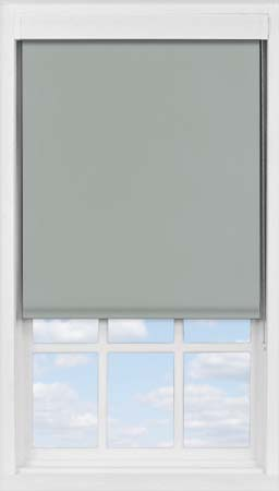 Premium Roller Blind in PVC Charcoal