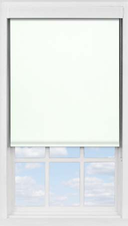 Premium Roller Blind in PVC Latte Cream