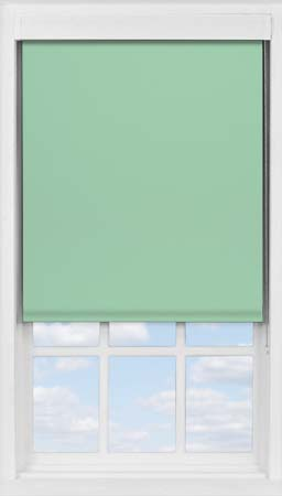Premium Roller Blind in Smooth Duck Egg Blackout