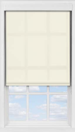 Premium Roller Blind in Soft Sand Translucent
