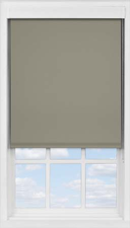 Premium Roller Blind in Truffle Blackout