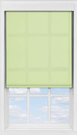 Premium Roller Blind in Wasabi Green Translucent