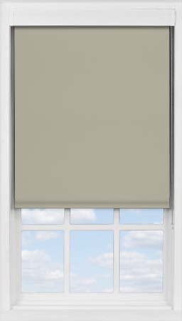Premium Roller Blind in Warm Grey Blackout