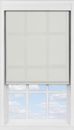 Premium Roller Blind in Light Grey Translucent