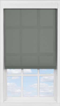 Premium Roller Blind in Smouldering Charcoal Translucent