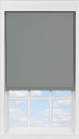 Premium Roller Blind in Smouldering Charcoal Blackout