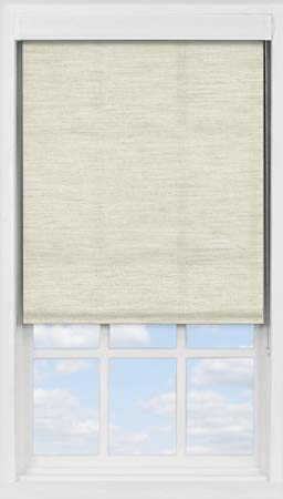 Premium Roller Blind in Light Seagrass Translucent