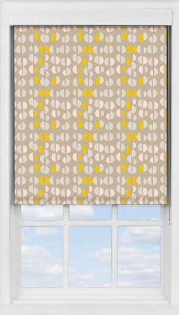 Premium Roller Blind in Neutral Nursery Blackout