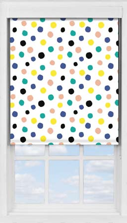Premium Roller Blind in Pom Pom Blackout