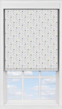 Premium Roller Blind in Soothing Starfall Blackout