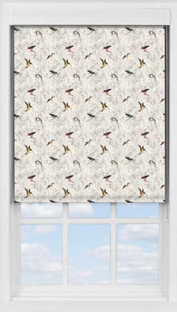 Premium Roller Blind in The Gathering Translucent