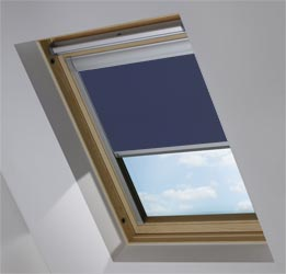 Custom Skylight in Celestial Blue Blackout