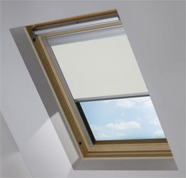 Custom Skylight in Pale Ash Blackout