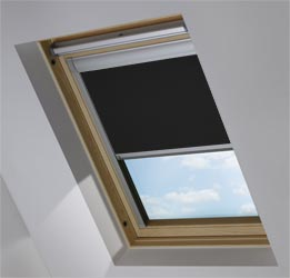 Custom Skylight in Pitch Black Blackout