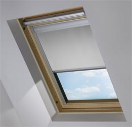 Custom Skylight in PVC Soft Grey