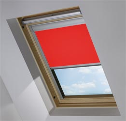 Custom Skylight in Scarlet Blackout
