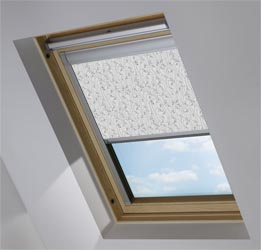 Skylight in Wild Geese Dark Grey Blackout