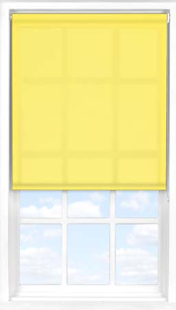 Roller Blind in Buttercup Translucent