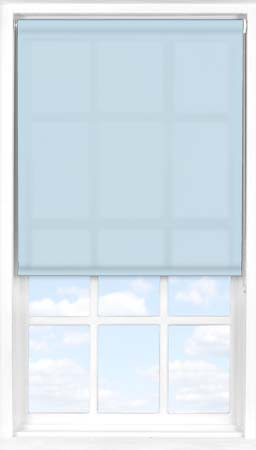Roller Blind in Crystal Blue Translucent
