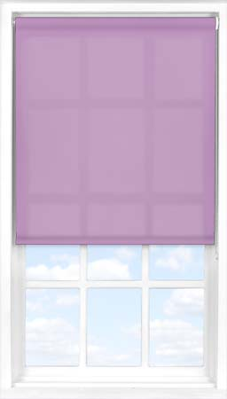 Motorised Roller Blind in Foxglove Translucent