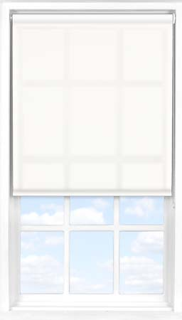 Motorised Roller Blind in Orchid White Translucent