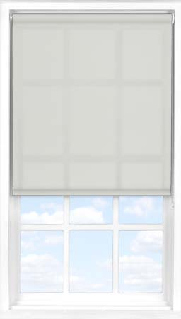 Motorised Roller Blind in Pale Ash Translucent