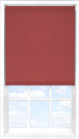 Motorised Roller Blind in Plum Blackout