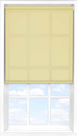Motorised Roller Blind in Primrose Translucent