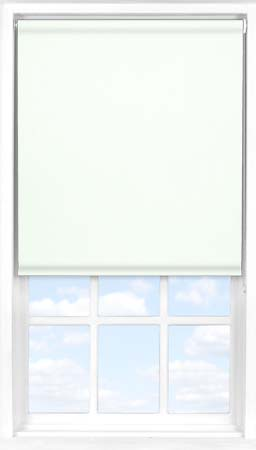 Roller Blind in PVC Latte Cream