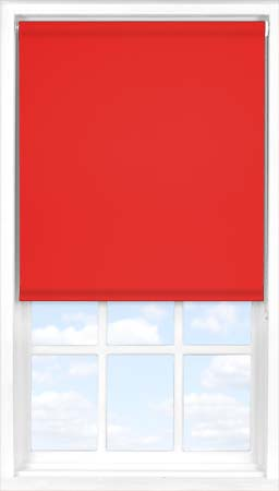 Roller Blind in Scarlet Blackout