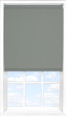 Roller Blind in Smokey Haze Blackout