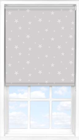 Motorised Roller Blind in Starry Glow Blackout