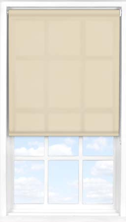 Motorised Roller Blind in Taupe Translucent
